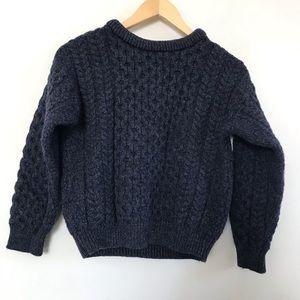 Vintage Blarney Wool Merino Wool Sweater Blue